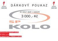 Specialized - Dárkový poukaz 3000 ,- Kč