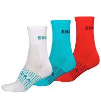 Endura - Dámské ponožky Coolmax Race (3-balení)